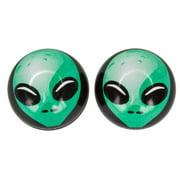 Trick Top Valve Caps Alien Green