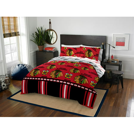 - NHL Chicago Blackhawks Queen Bed In Bag Set