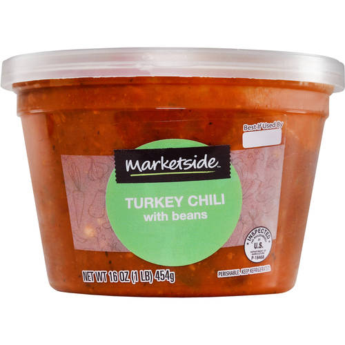 Marketside Turkey Chili with Beans, 16 oz