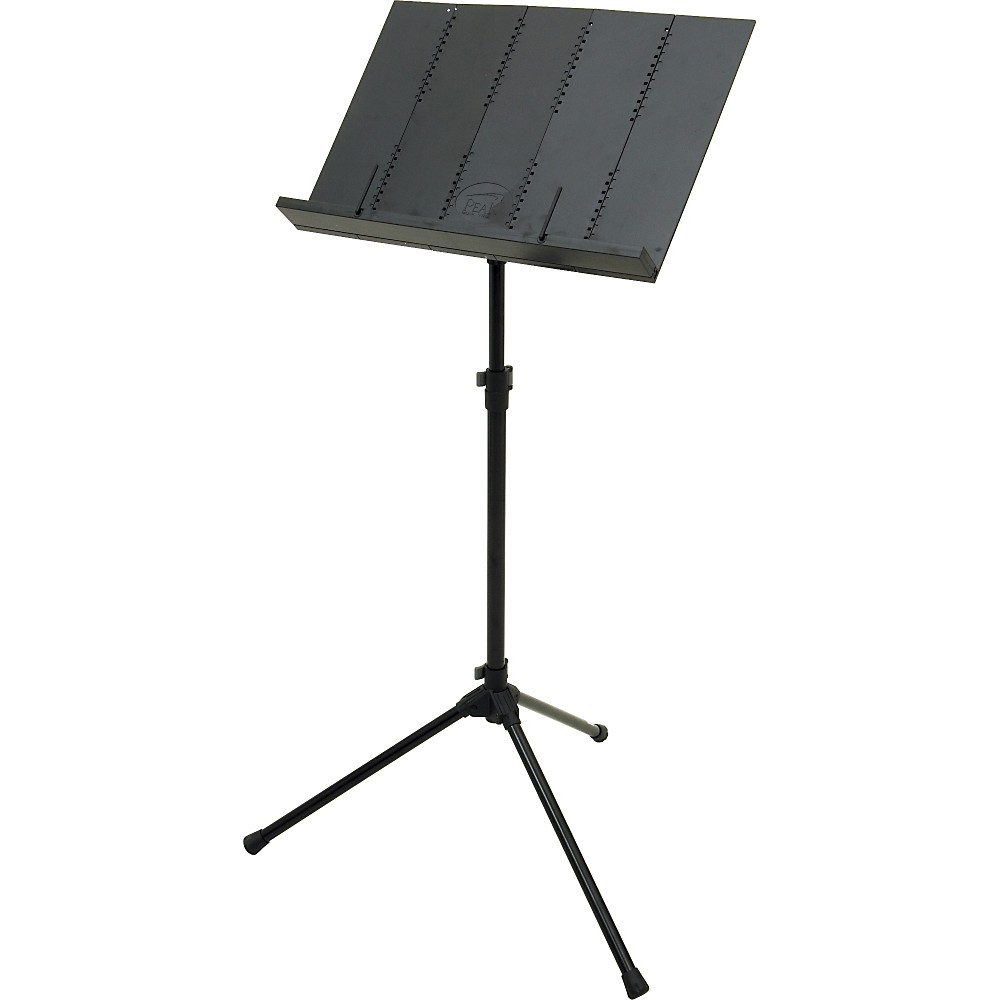 Peak Music Stands Portable Music Stand Black by Peak Music Stands