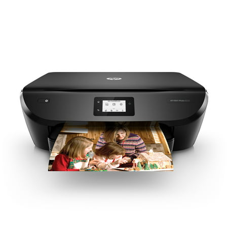 HP ENVY Photo 6222 All-in-One Wireless Color Craft It! Printer Bundle - Instant Ink (Hp Envy All In One Wireless Printer)