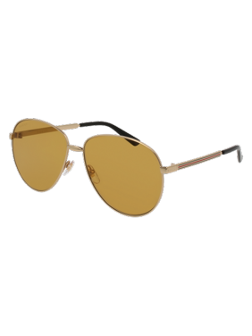 d072742cb91 Product Image Gucci GG0138S Sunglass 61mm GOLD