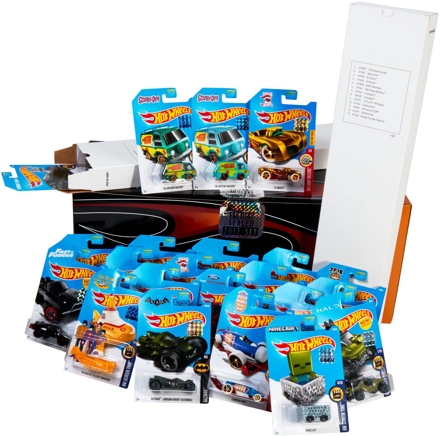 Hot Wheels Mini Set 1 by Mattel