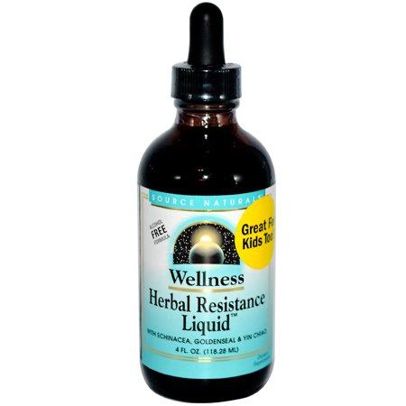 - Source Naturals Source Naturals Wellness Herbal Resistance Liquid, 4 oz