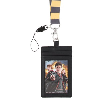 Harry Potter School Crest Lanyard: Hufflepuff
