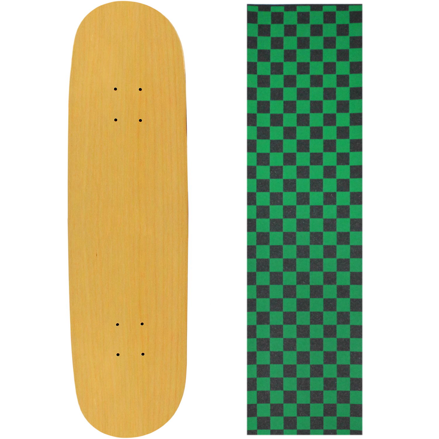 Moose Skateboard Deck Pro 7-Ply Canadian Maple NATURAL Wi...