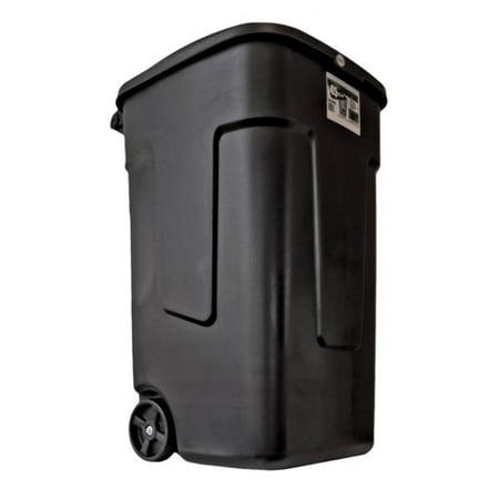 . Pioneer Products Llc 45 Gal Black Trash Can