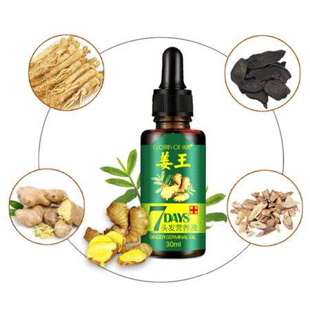 Marainbow Hair Loss Treatment Ginger Oil, Hair Growth Serum For Thicker Healthier Hair Care For Men And Women