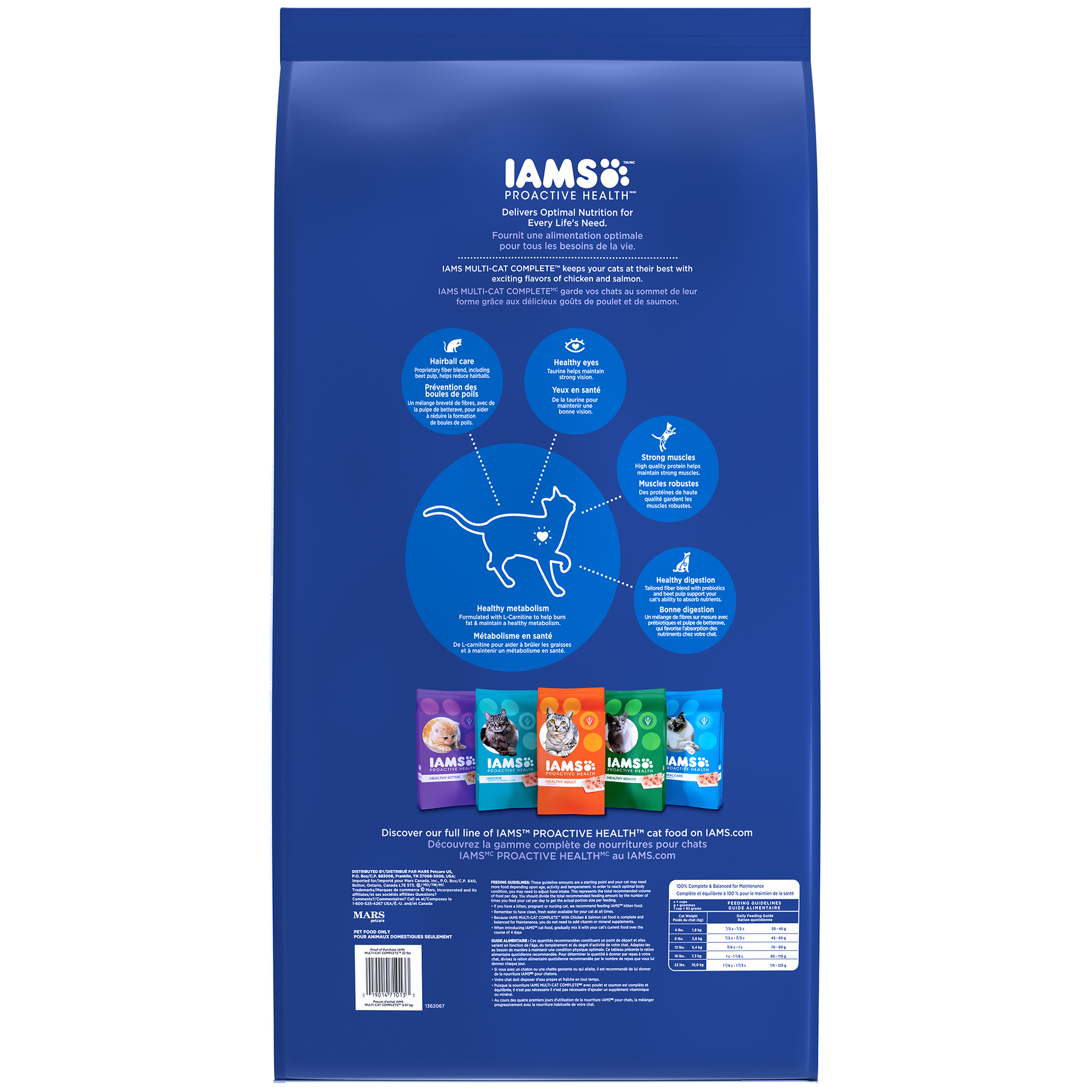Iams Cat Food Nutrition Facts