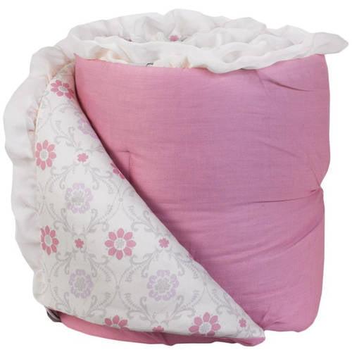 Living Textiles Violet Bumper, 100% Cotton w/ 100% Poly Fill