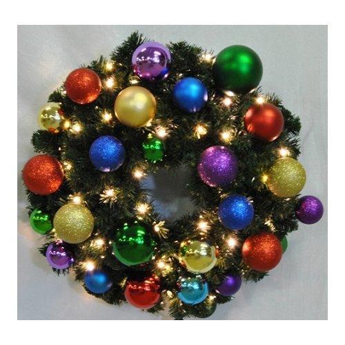 Christmas at Winterland  WL-GWSQ-02-ROYAL-LWW  Wreaths  Natural Holiday Wreaths  Holiday Decor  Natural  ;Warm White