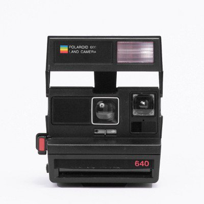 Polaroid Originals 600 Camera - Black Flash Polaroid Fun Flash