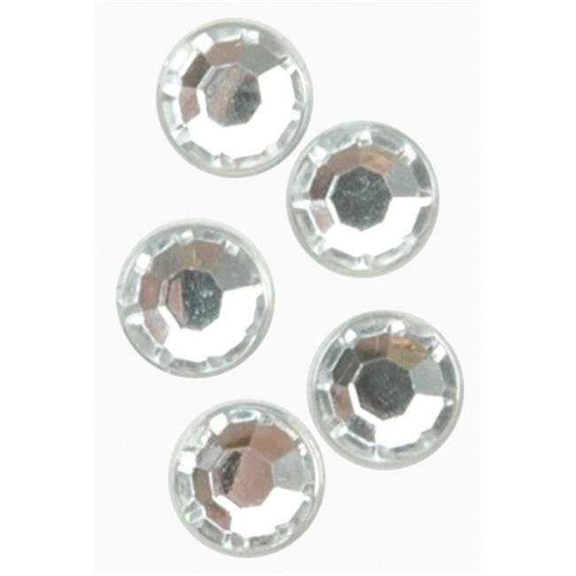 153016 Rhinestones Round 5mm 180-Pkg-Crystal