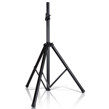 Pyle Speaker Stand (PYLE PSTND2 - Universal Tripod Speaker Stand Mount Holder, Height Adjustable, 6' Ft. )