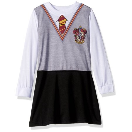 harry potter girls' hermoine school uniform sleep - Halloween Gown