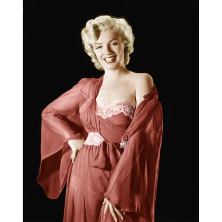 Marilyn Monroe Rolled Canvas Art -  (8 x 10)