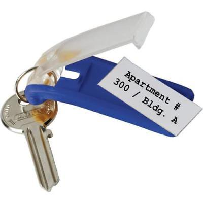 Dark Blue Modern Key Box Replacement Key Tags, 6 pack per unit 6 Pack Key Tags For Modern Key Boxes - Dark Blue - PKG Of 6 - Each Package Contains 6 Key Tags - Easily Customize Your Key Tags With  Any Pen Or Marker