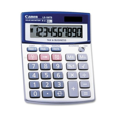 Canon LS100TSG Mini-desktop Calculator CNMLS100TS