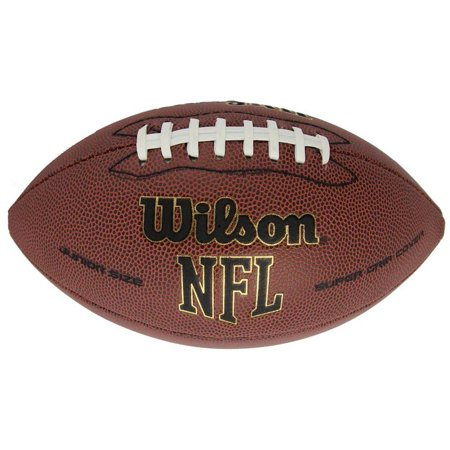 Leather Game Ball Footballs (Wilson NFL Super Grip Composite Leather Game Football In Multiple)