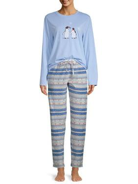 EV1 from Ellen DeGeneres Penguin Love Pajama Pant Set Women's