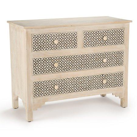 online retailer bc471 4201b Steve Silver Co. Khalid 4 Drawer Sideboard/Accent Cabinet