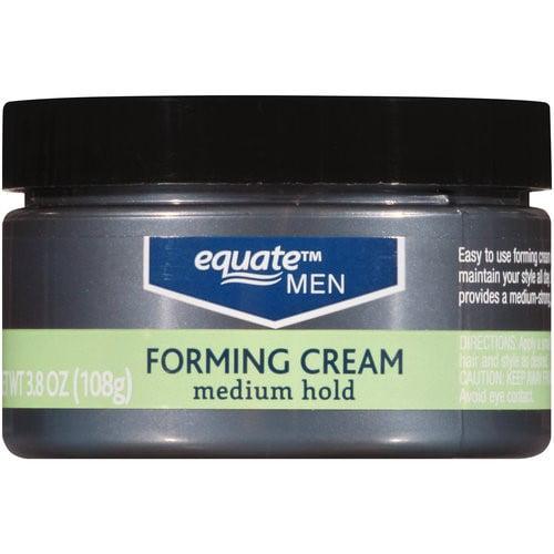 Equate Men Medium Hold Forming Cream, 3.8 Oz