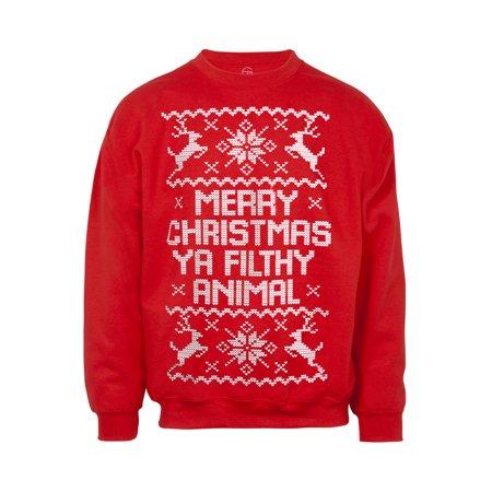 Merry Christmas Ya Filthy Animal Ugly Christmas Sweater