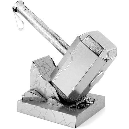 Metal Earth 3D Laser Cut Model, Marvel Avengers Mjolnir (Thor's Hammer) (Avengers Hammer)