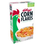Kellogg's Corn Flakes Breakfast Cereal, Original, 18 Oz