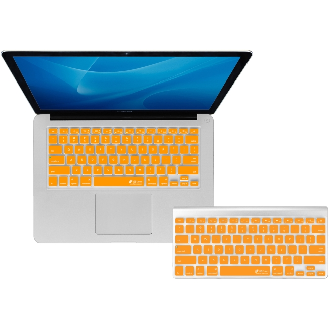 KB Covers Orange Checkerboard Keyboard Cover for MacBook/Air 13/Pro (2008+)