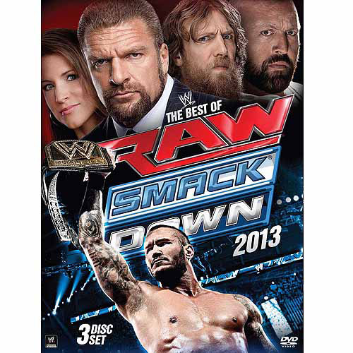 WWE: The Best Of Raw And Smackdown 2013 (3-Disc)