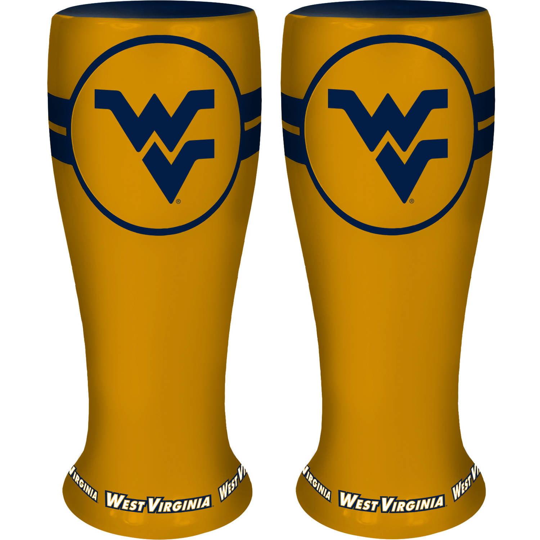 NCAA West Virginia Mountaineers 2-Pack Ceramic Collectible Pilser