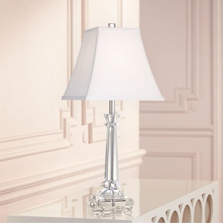 Vienna Full Spectrum Traditional Table Lamp Crystal Glass