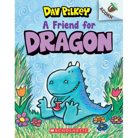 A Friend for Dragon : An Acorn Book](Dragon Halloween Dav Pilkey)