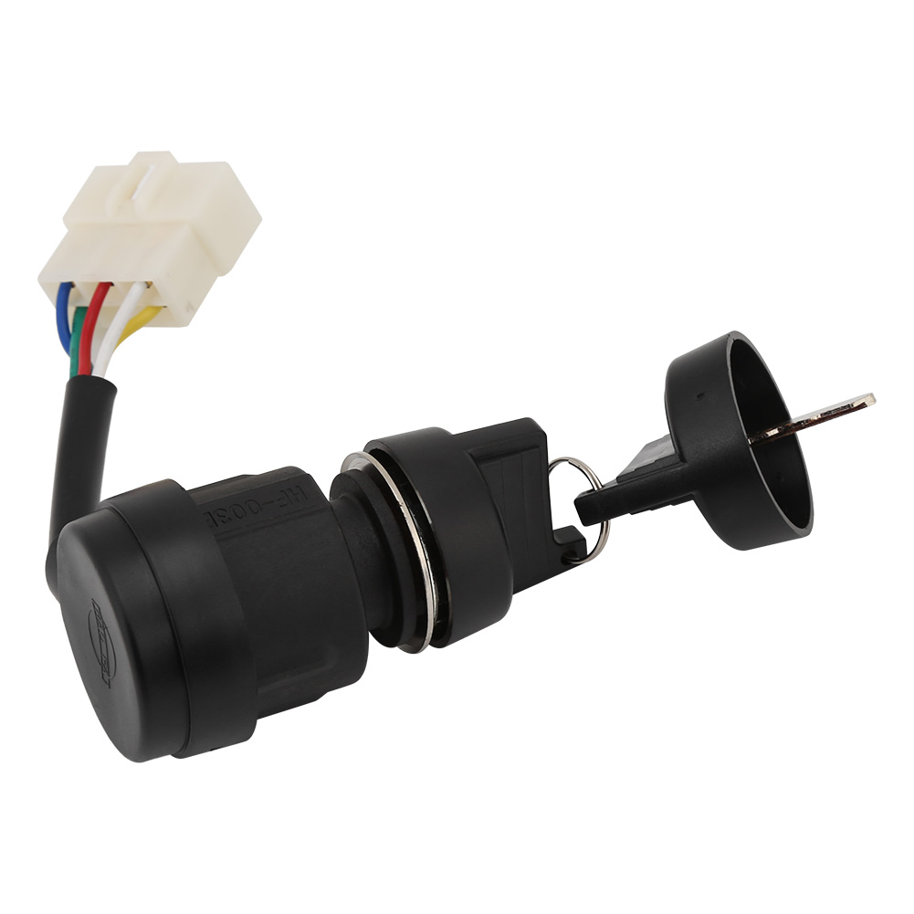 5KW 186 Gas Generator Gas Generator Ignition Switch with Key 5 Wires Key Starter Switch for 2KW