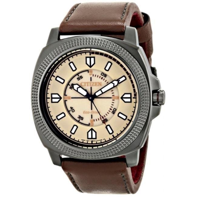 Citizen Eco-Drive CTO DRIVE Leather Mens Watch BJ6477-04X fa97afdb7352