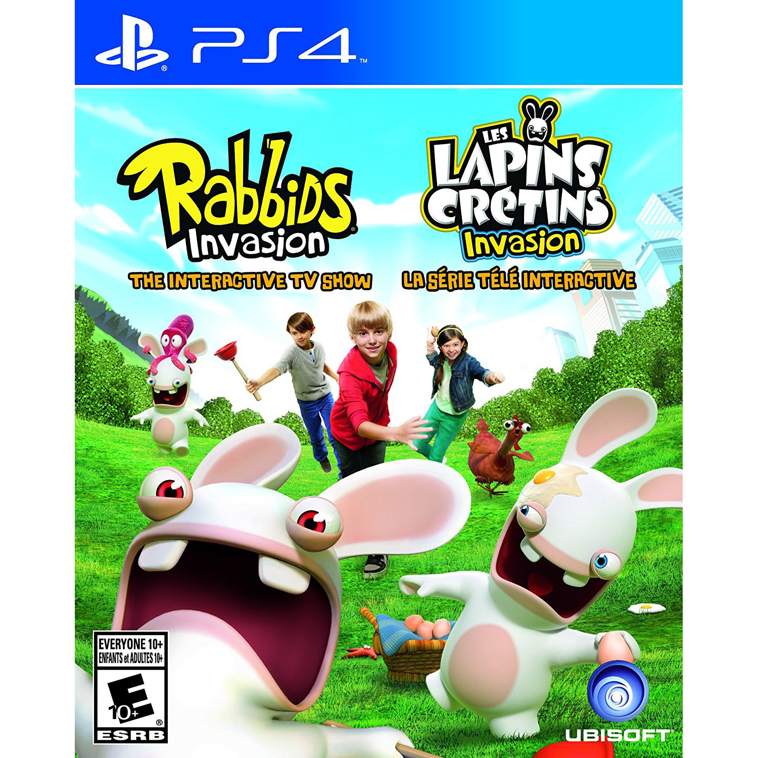 Sony PlayStation 4 Rabbids Invasion Video Game by Sega
