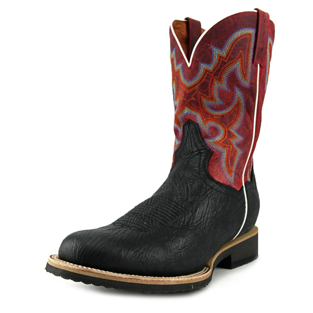 Dan Post Odessa EW Round Toe Leather Western Boot by Dan Post