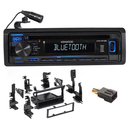 Kenwood CD Receiver w/Bluetooth iPod/iPhone For 1999-2003 Nissan Quest