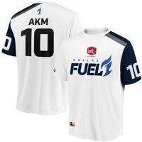 aKm Dallas Fuel Overwatch League Replica Away Jersey - White