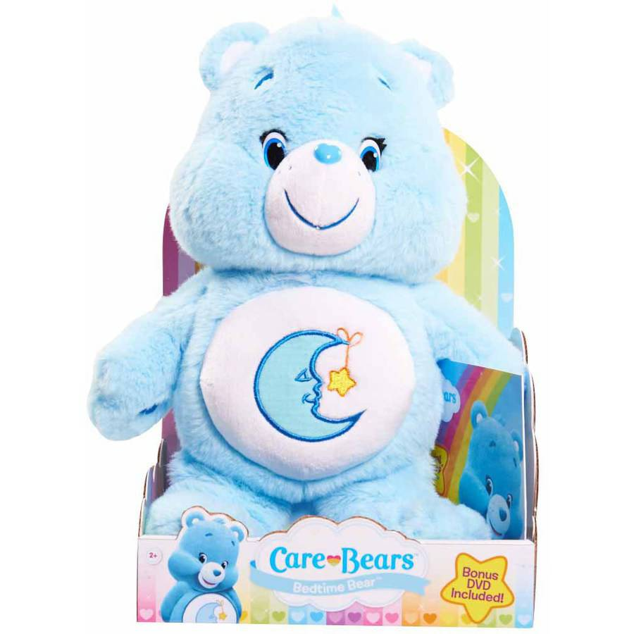 Care Bear Medium Plush with DVD, Bedtime