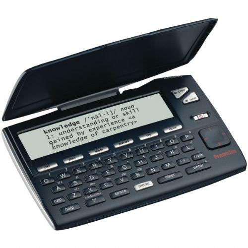 FRANKLIN MWD-465 MERRIAM-WEBSTER(R) INTERMEDIATE DICTIONARY WITH THESAURUS