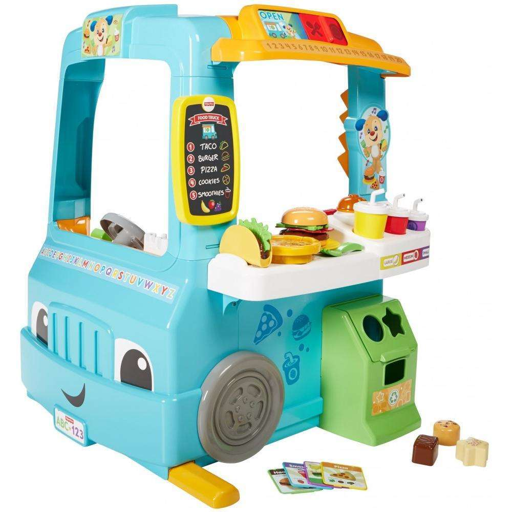 Fisher Price Laugh & Learn Servin' Up Fun Food Truck by FISHER PRICE