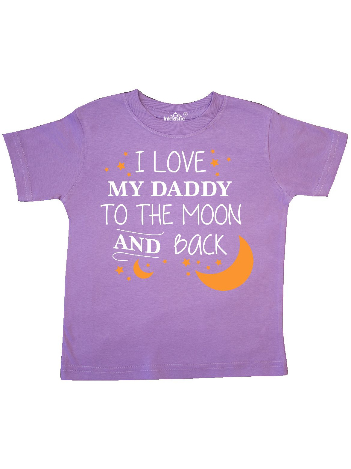 I Love My Daddy To The Moon and Back Toddler T-Shirt