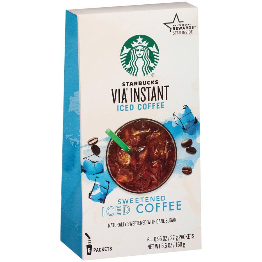 Starbucks VIA Iced Coffee 6ct