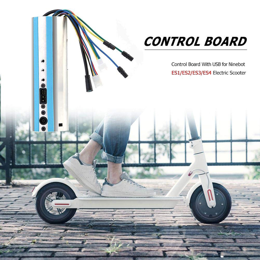 Activated Bluetooth Dashboard Control Board for Ninebot ES1//ES2//ES4 Replacement
