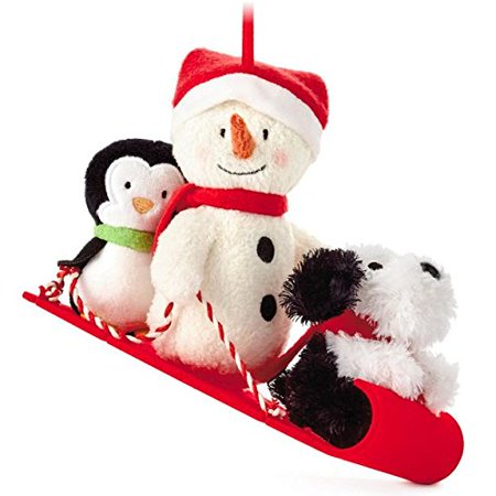 Hallmark Snow What Fun Christmas Tree - Fun Christmas Ornaments