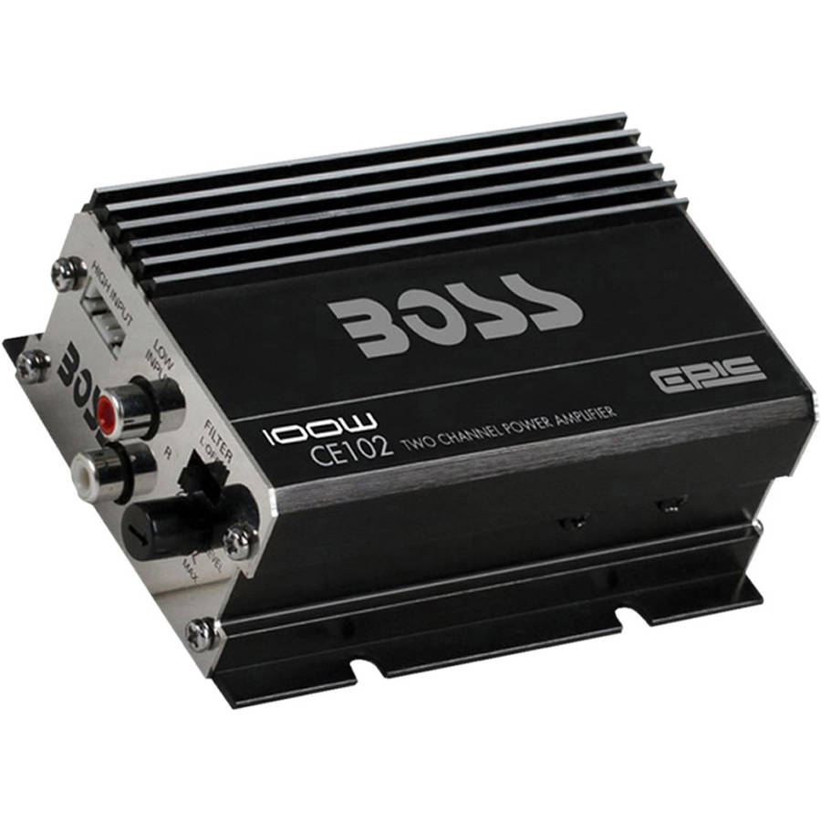 Boss CE102 Mini High-Power 100W 2-Channel Amp