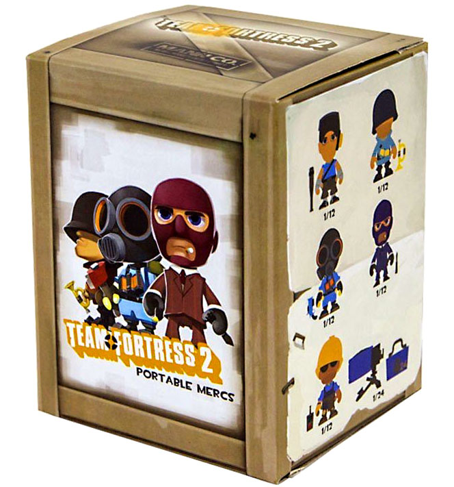 Team Fortress 2 Portable Mercs Team Fortress 2 Mystery Pack