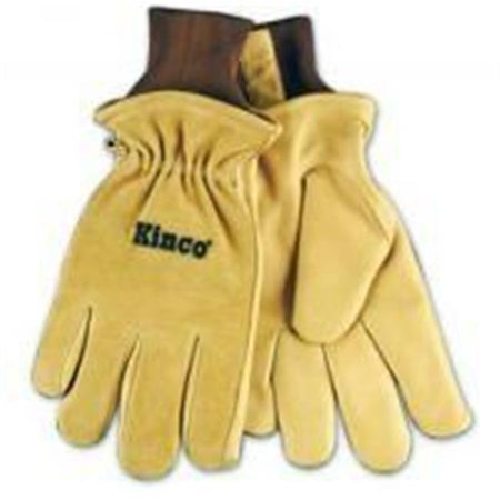 Kinco International 1770635 Grain Pigskin Drivers Thermal Lined Glove Kinco Insulated Gloves